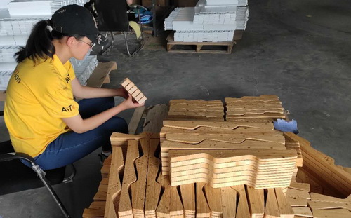 Bamboo furniture inspection