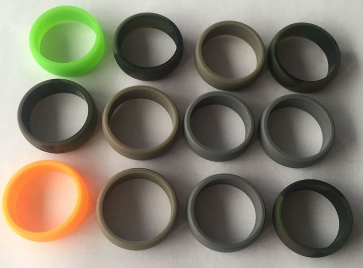 Silicone wedding ring inspection